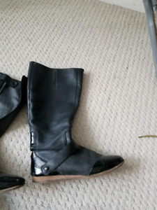 Riding boots real leather
