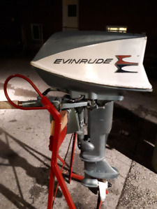 Evinrude sportwind 10hp outboard motor