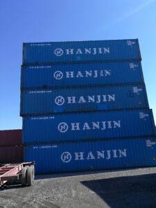 SALE 40' STD SHIPPING/STORAGE CONTAINERS COD