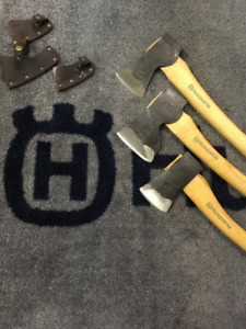The Lawn Guy Hand Forged Axe SALE!