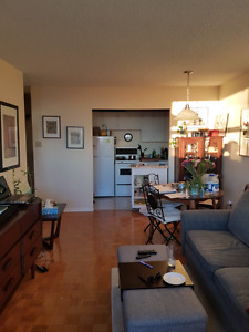 1062.00 -  Hintonburg 1 bd  all inclusive -May 1st