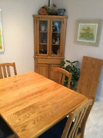 Solid oak kitchen set