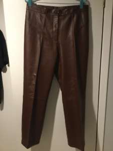 Real Leather Pants