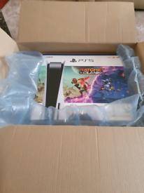 Playstation 5 Ps5 Disc Edition Ratchet Clank Bundle