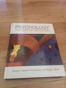 Psychology - Frontiers and Applications