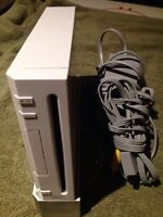 Nintendo Wii with games and accessories