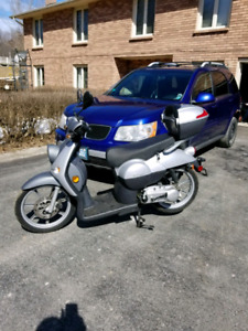 It's a Benelli Pepe scooter 49cc