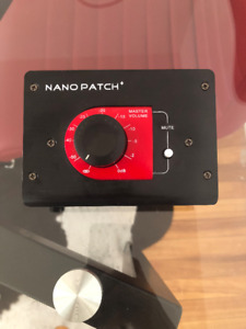 SM Pro Audio Nano Patch + passive volume controller