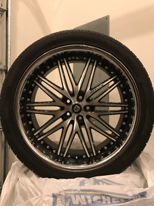 Used 4 luxury wheels for sale (still in good condition)