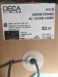 16-4C Oxygen Free CL3 Inwall Speaker Wire