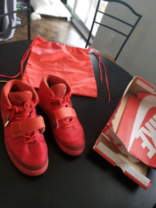 AUTHENTIC!! Red Octobers slightly used for cheap price!