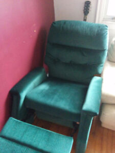 Classe fauteuil inclinable