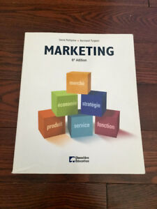 Marketing, Denis Pettigrew et Normand Turgeon, 6e édition