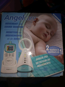 Baby Monitor. Angelcare Movement/Sound Monitor Great Condition.