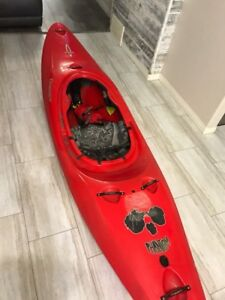 Like New Dagger Phantom Kayak, Red