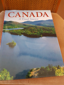 Canada A Visual Journey coffee table book