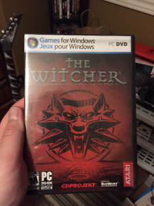 The Witcher PC game BNIB SEALED