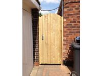 Soild wooden back/side garden gates driveway gates & garage doors supplied and fitted Liverpool