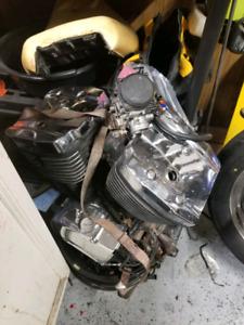 2001 Vulcan 800 engine