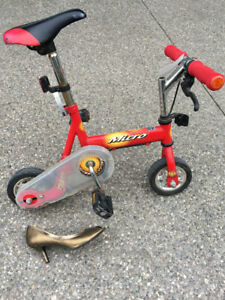 Specialty Item. Miniature Circus Bike, Mini Bike, Rare