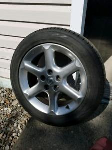 215/55r17 pneu et mag