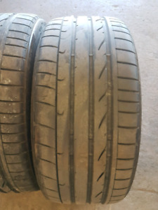 "Runflat Used BMW Staggered 20"" Tires"