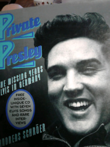 Private Presley, the missing years Elvis in germany with CD
