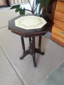 Side table, antique replica