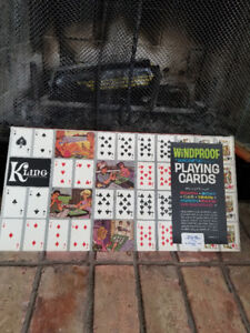 Kling Magnetic board and playing cards