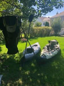 INFLATABLE KAYAKS GONFLABLES