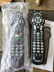 Two TV PVR DVD VCR Remote control units (one new sealed)