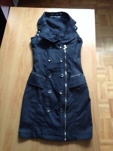 Dress robe grandeur small jeans style extensible
