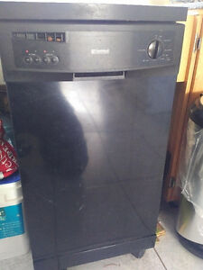 Kenmore narrow portable dishwasher with little use.
