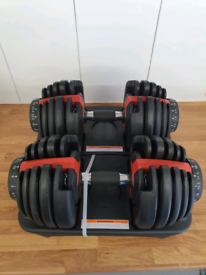 Adjustable dumbbells 2kg - 24kg brand new x2 pair