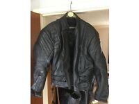 Rhino leather motorbike jacket
