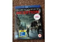 Inception Blu-Ray DVD