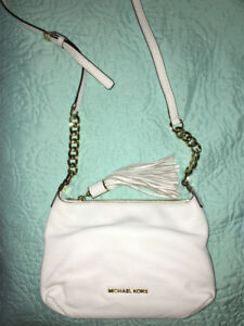 Michael Kors Brand New White Leather Purse