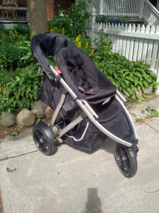 Phil&Teds Vibe 3-wheel Stroller - incl double kit PRICE DROP