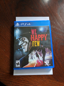 We Happy Few - BRAND NEW OUT OF WRAP