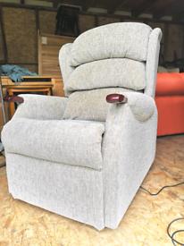 Hsl dual motor riser recliner arm chair