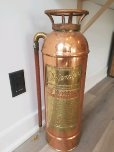 Old Toronto fire extinguisher