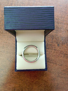 Mens comfort fit Vitalium Wedding band Windsor Region Ontario image 2