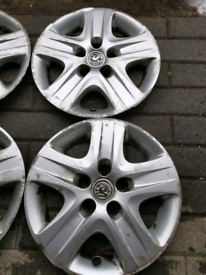 Vauxhall wheels trims 15in set of 4