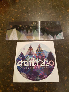 4x Hard Copy Tickets to the Sold Out Shambhala Music Festival!