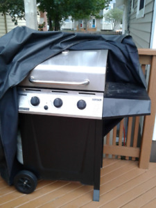 bbq and cover