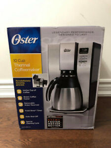 Oster Thermal 10-Cup Coffee Maker (BVSTPSTX95-033) Stainless