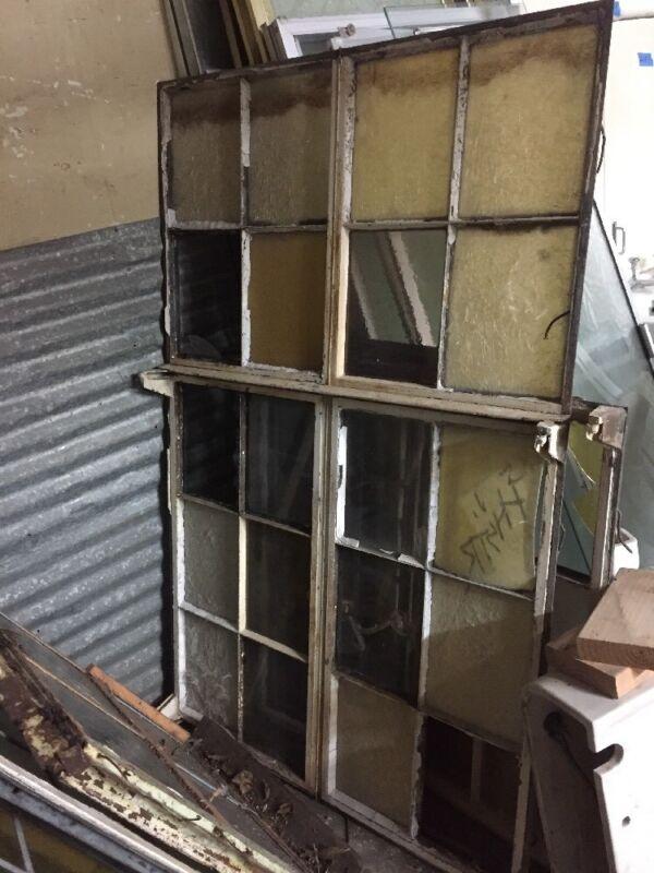 "Metal Case Factory Window 61""x39"""