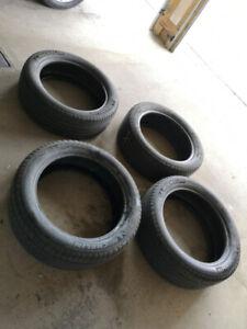 4 Michelin all Season tires, P245/50 R20 102H