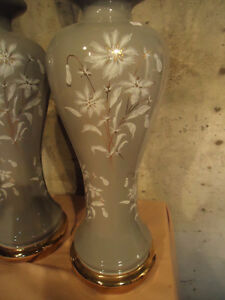 PAIR OF DESIGNER TABLE LAMPS & MORE LAMPS West Island Greater Montréal image 5