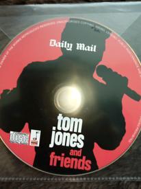 Tom Jones and friends CD music.